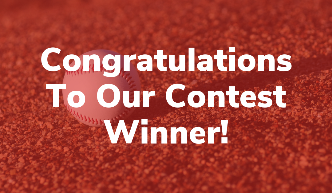 Congratulations To Our Contest Winner!