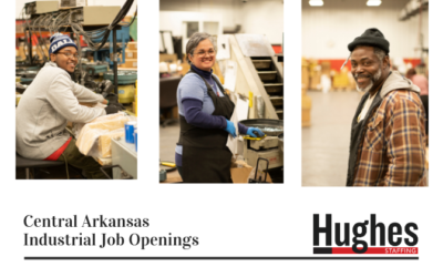 Central Arkansas Industrial Job Openings